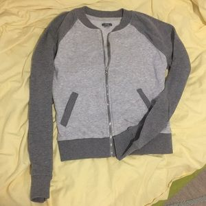 Jackets & Blazers - Like New Aerie Zipper French Terry Cloth Jacket